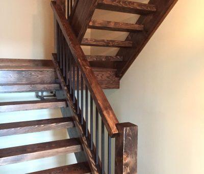 Réalisation - Escalier en bois - Constructions McVeigh